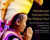 Himalayan Sacred Arts for Peace Tour Poster